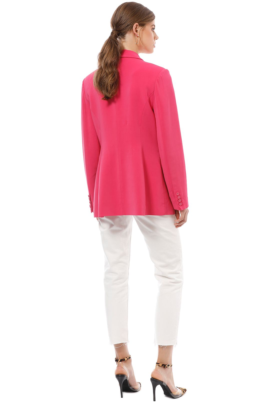 CMEO Collective - Own Light Blazer - Pink - Back