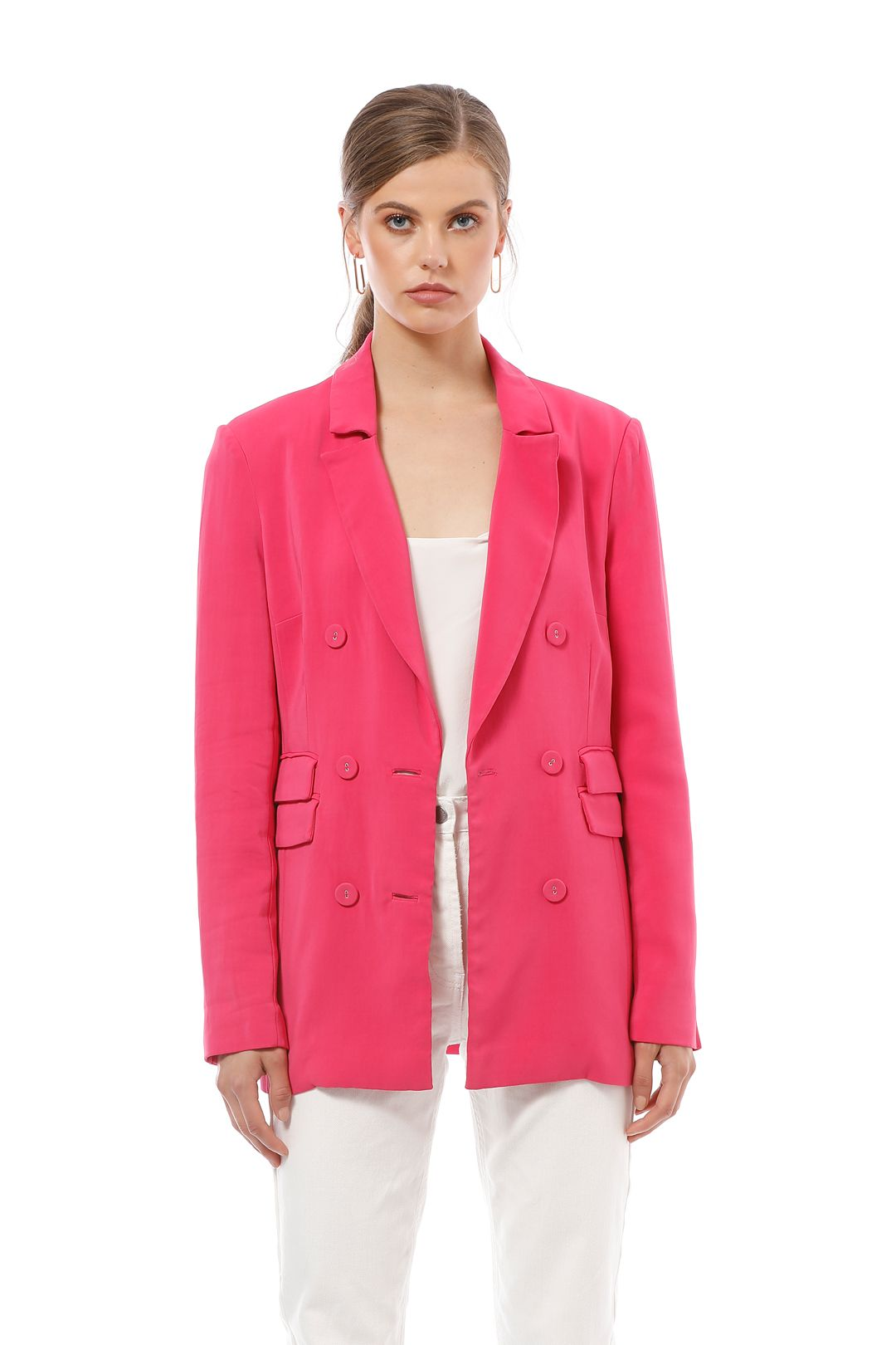 CMEO Collective - Own Light Blazer - Pink - Close Up