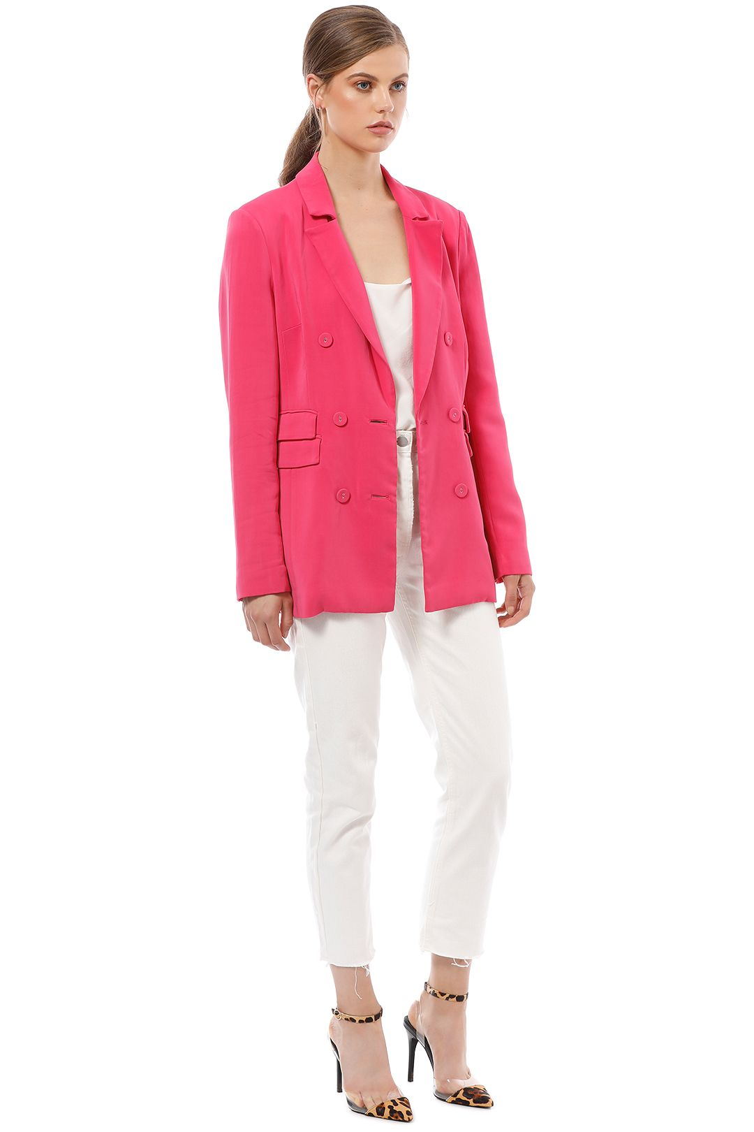 CMEO Collective - Own Light Blazer - Pink - Side