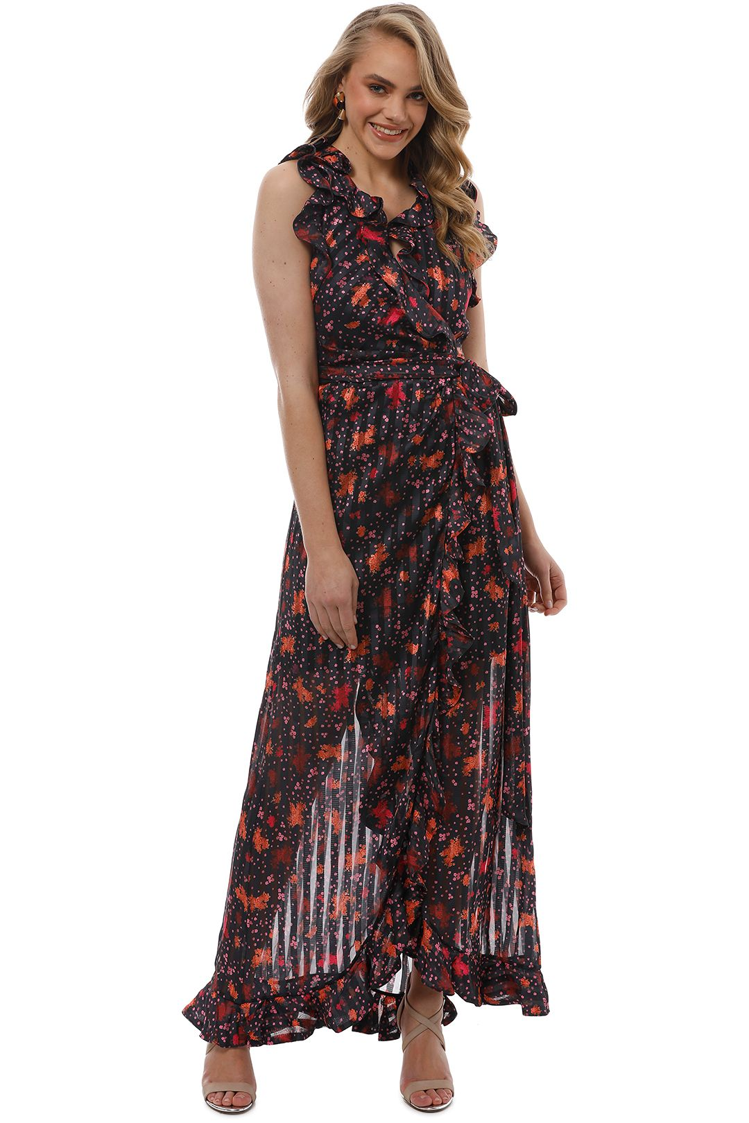 CMEO Collective - Significant Gown - Black Rose - Front