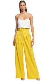 CMEO Collective - Silenced Pant - Yellow - Front