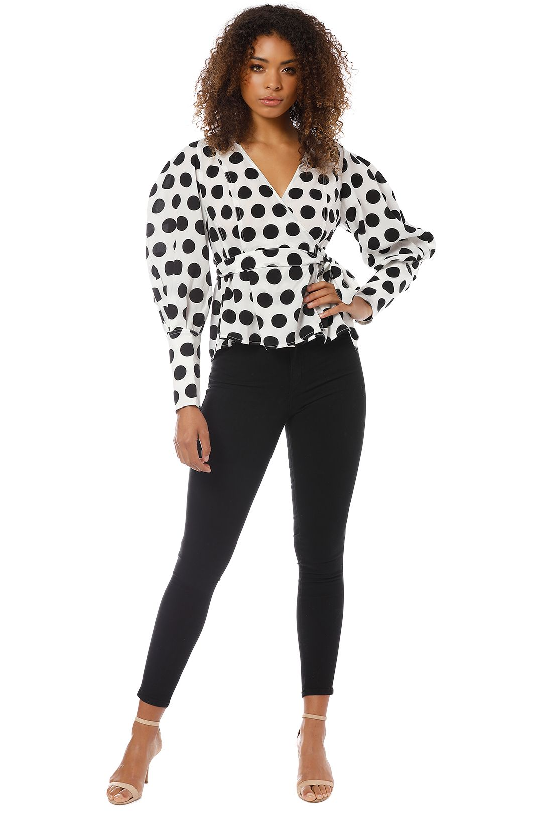 CMEO Collective - Unending LS Top - Black and White - Front