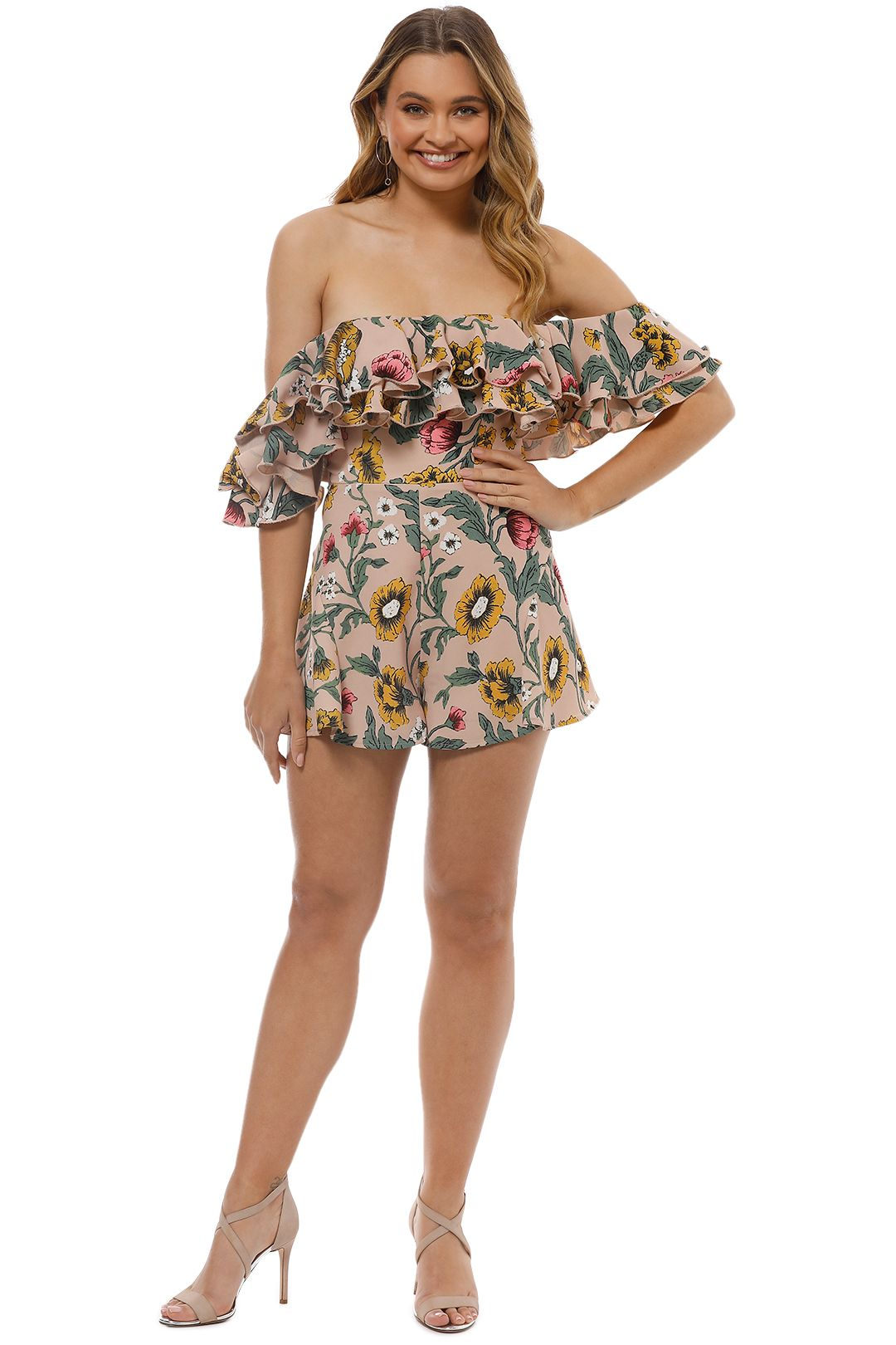 Cameo - Immerse Playsuit - Blush - Front