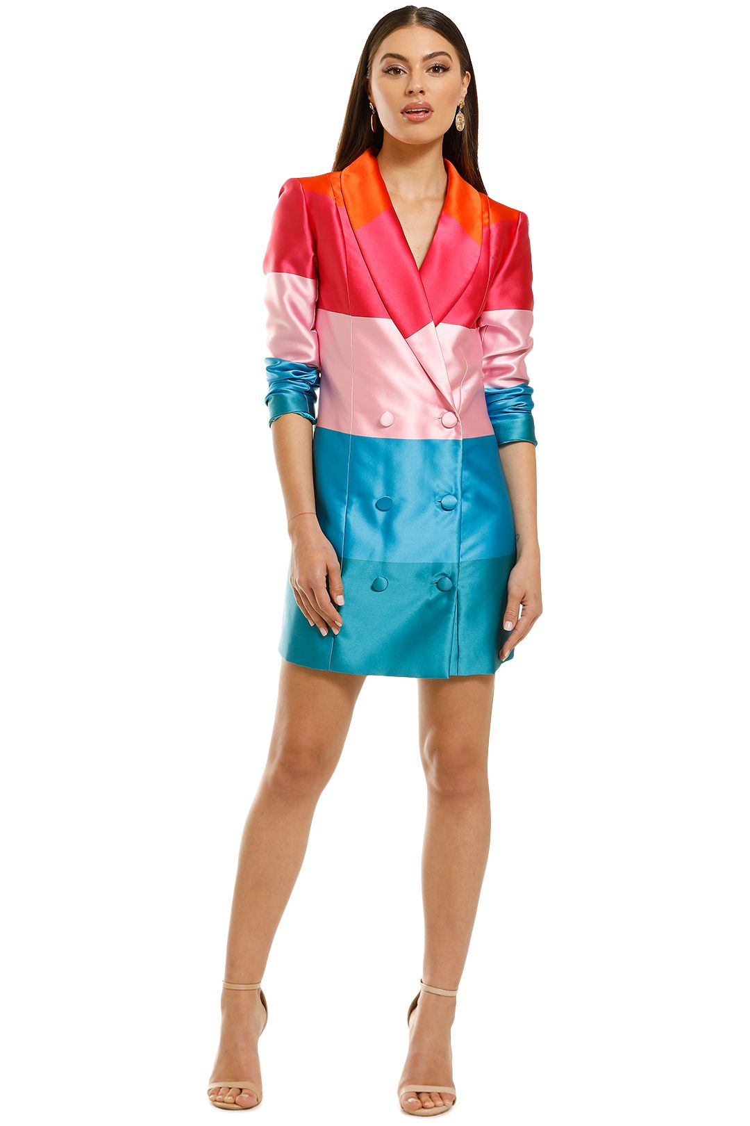 Coop-by-Trelise-Cooper-Trail-Blazer-Dress-Multi-Stripe-Front