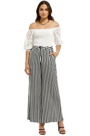 Cooper-By-Trelise-Cooper-Down-The-Line-Pant-Black-White-Stripe-Font