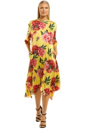 Cooper-By-Trelise-Cooper-Forever-Long-Dress-Yellow-Front
