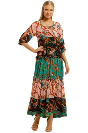 Cooper-By-Trelise-Cooper-Frill-For-All-Dress-Multi Print-Front