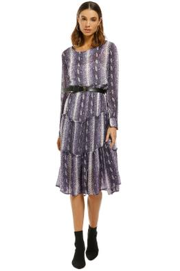 Cooper-by-Trelise-Cooper-Gathering-Together-Dress-Purple-Snake-Front