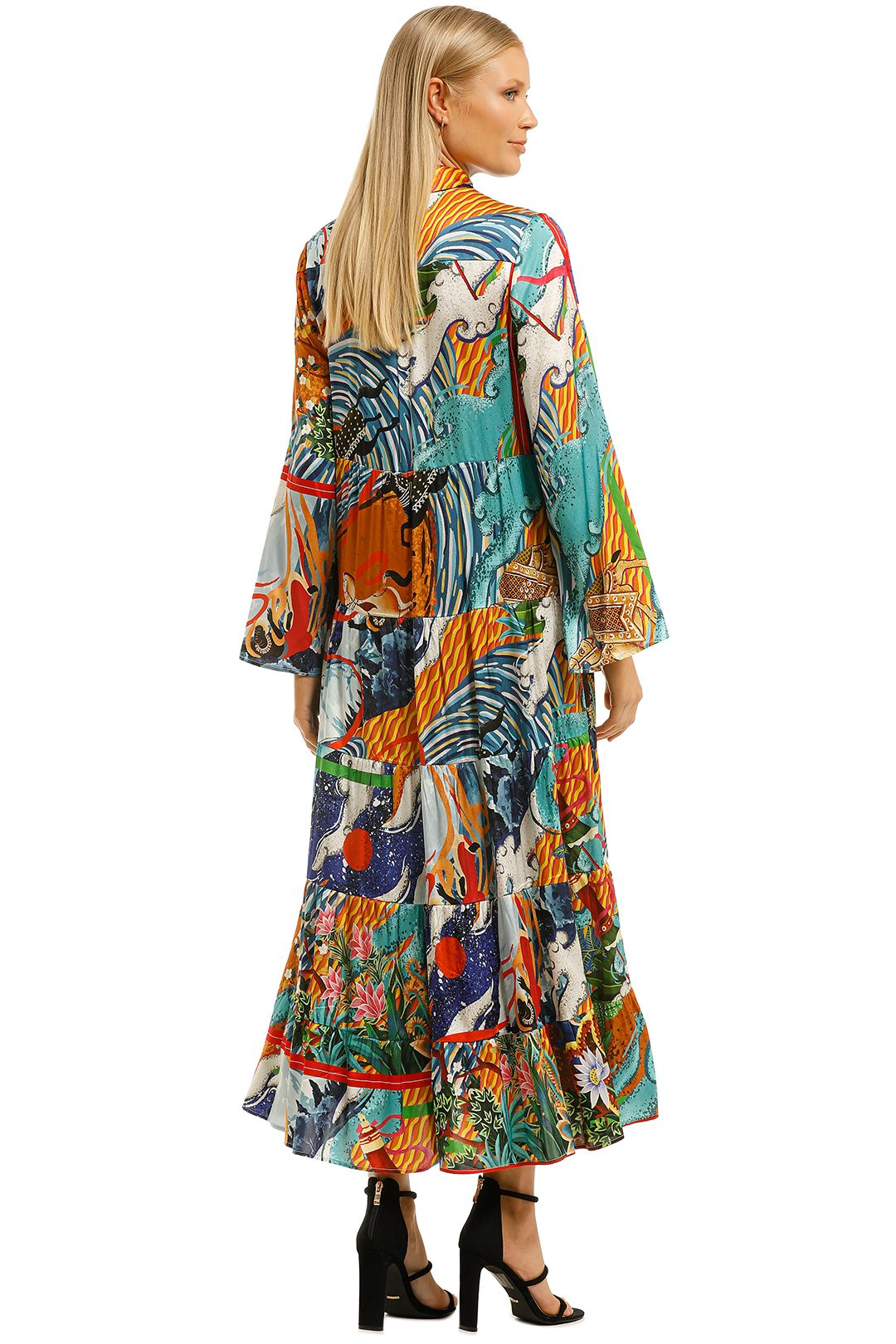 Cooper-by-Trelise-Cooper-Hunt-and-Gather-Dress-Multi-Print-Back
