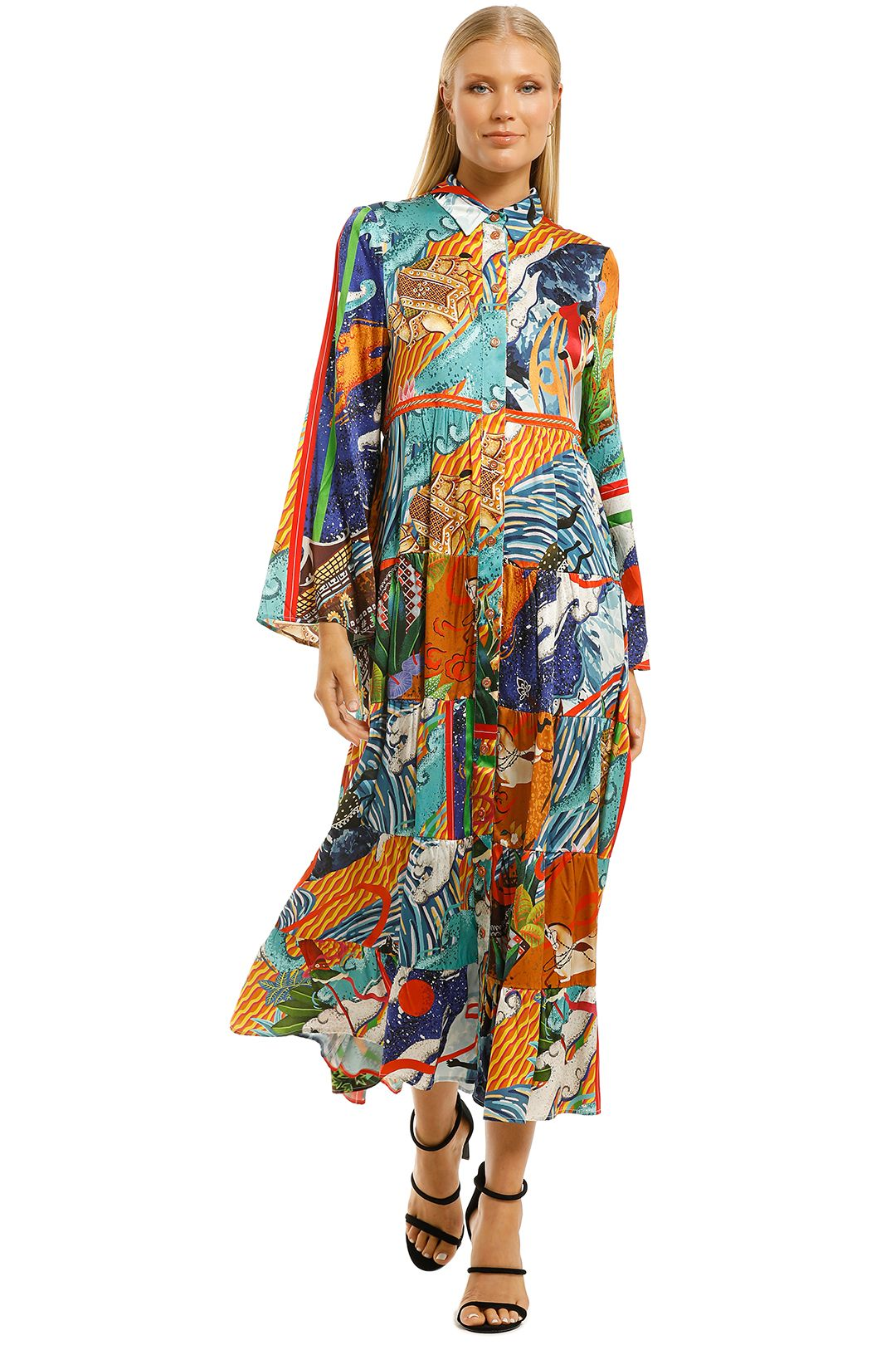 Cooper-by-Trelise-Cooper-Hunt-and-Gather-Dress-Multi-Print-Front