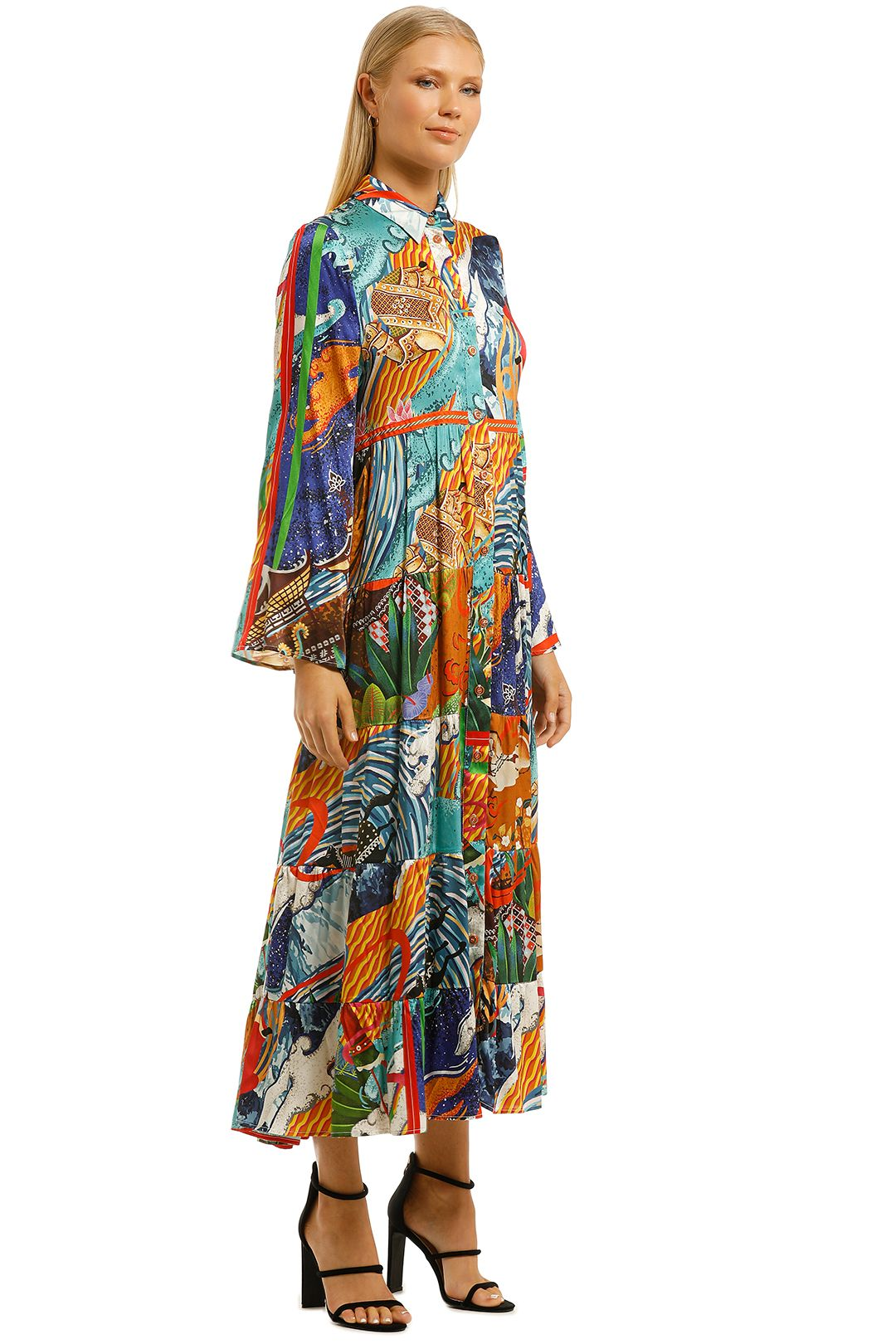 Cooper-by-Trelise-Cooper-Hunt-and-Gather-Dress-Multi-Print-Side