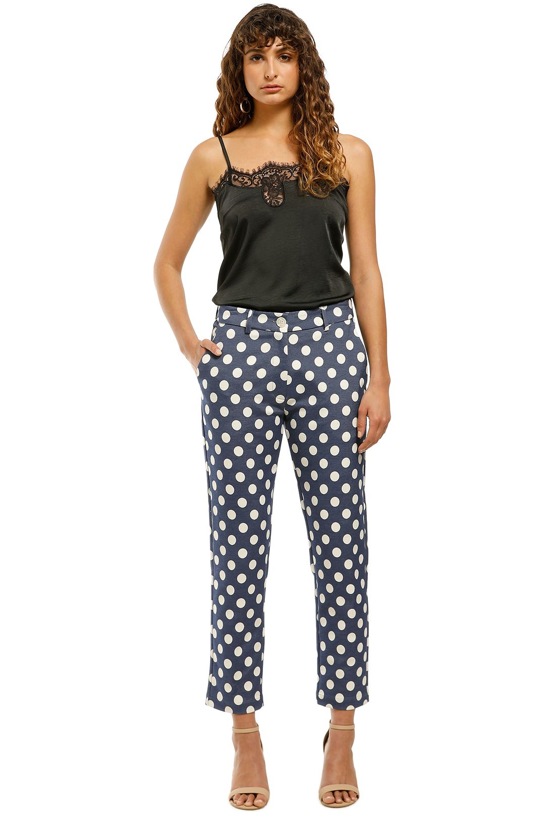 Cooper-by-Trelise-Cooper-I-Spot-You-Pant-Blue-Cream-Spot-Front