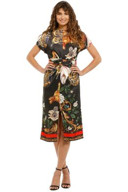 Cooper-By-Trelise-Cooper-I'm-Hare-For-You-Dress-Black-Rabbit-Print-Front