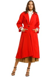 Cooper-by-Trelise-Cooper-Pleating-Weather-Jacket-Red-Front
