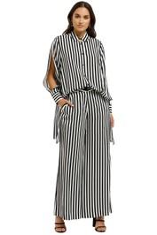 Cooper-By-Trelise-Cooper-Split-Tease-Shirt-Black-White-Stripe-Front