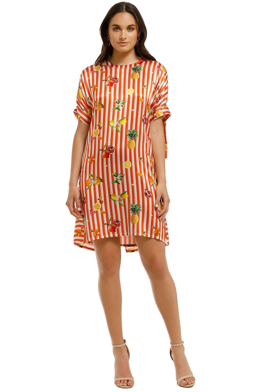 Cooper-By-Trelise-Cooper-Sunset-Shift-Dress-Orange-Stripe-Front