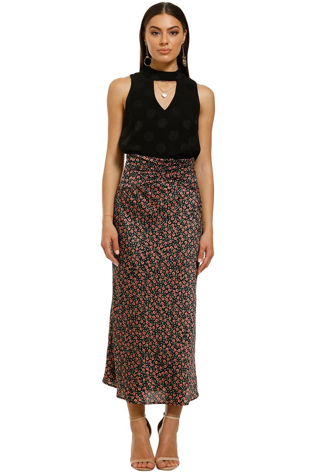 Cooper-St-Bright-Eyed-Top-Black-Polka-Dot-Front