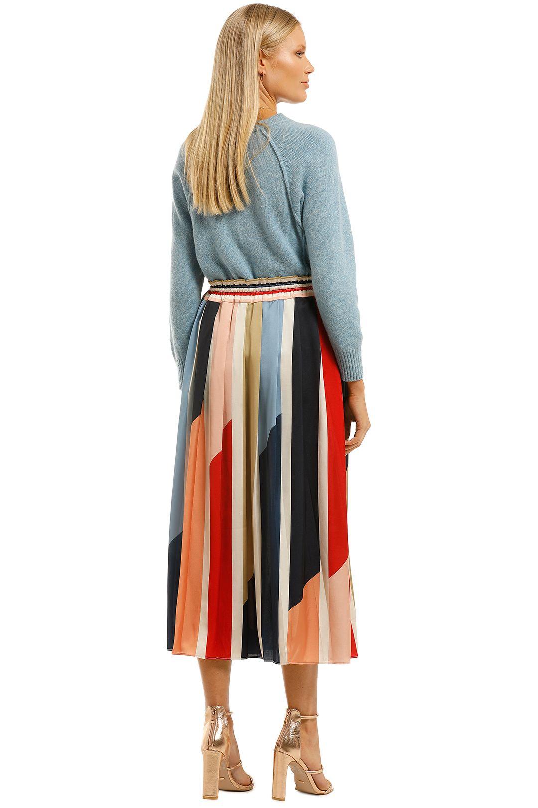 Cooper-St-Charlie-Pleated-Skirt-Print-Light-Back