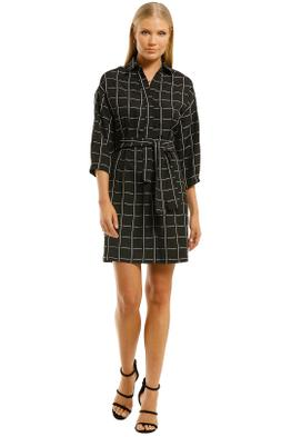 Cooper-St-Liberty-Shirt-Dress-Check-Front