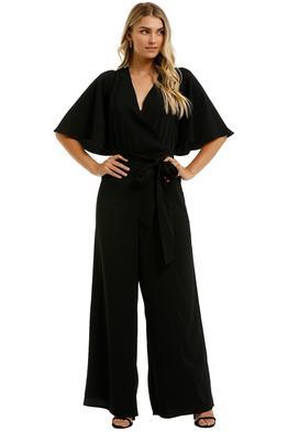 Cooper-St-Maeve-Flutter-Jumpsuit-Black-Front