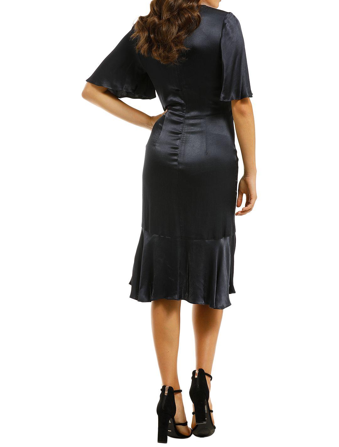 Cooper-St-Oasis-Twist-Detail-Frill-Dress-Ink-Back