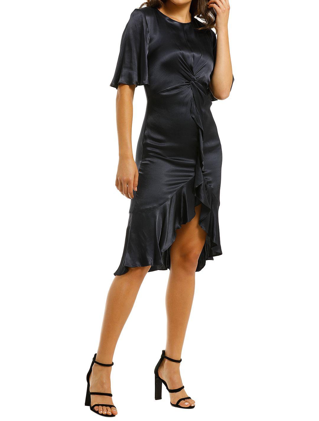 Cooper-St-Oasis-Twist-Detail-Frill-Dress-Ink-Side