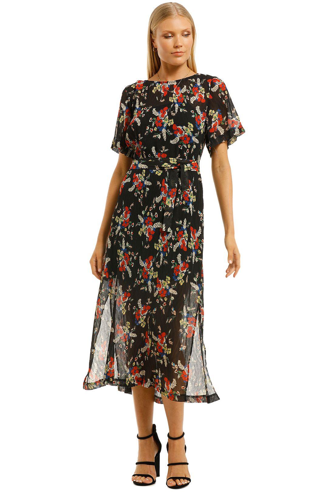 Cooper-St-Roxy-Midi-Dress-Print-Dark-Front