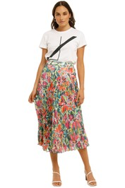 Cooper-St-Spirited-Pleated-Skirt-Print-Light-Front