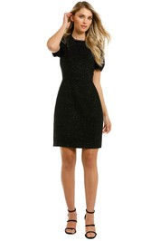 Cooper-St-Stardust-Mini-Dress-Black-Front