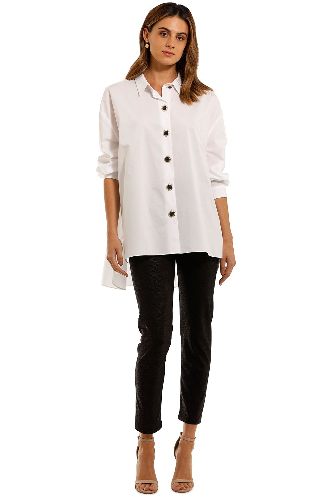 Cooper by Trelise Cooper Button Me Up Shirt white