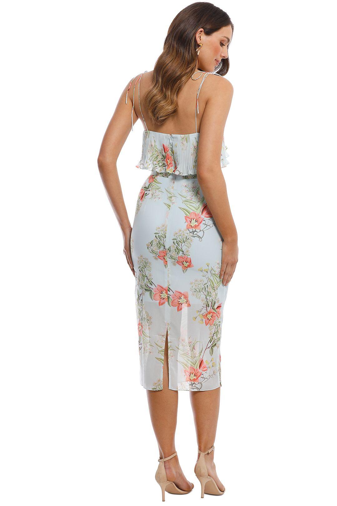 Cooper St - Blooming Knee Length Dress - Print Light - Back