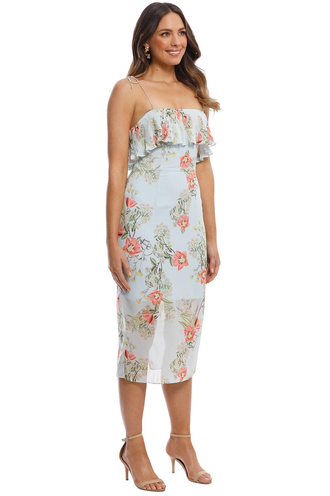 Cooper St - Blooming Knee Length Dress - Print Light - Side