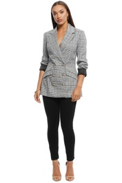 Cooper St - The Tide is High Jacket - Grey - Front