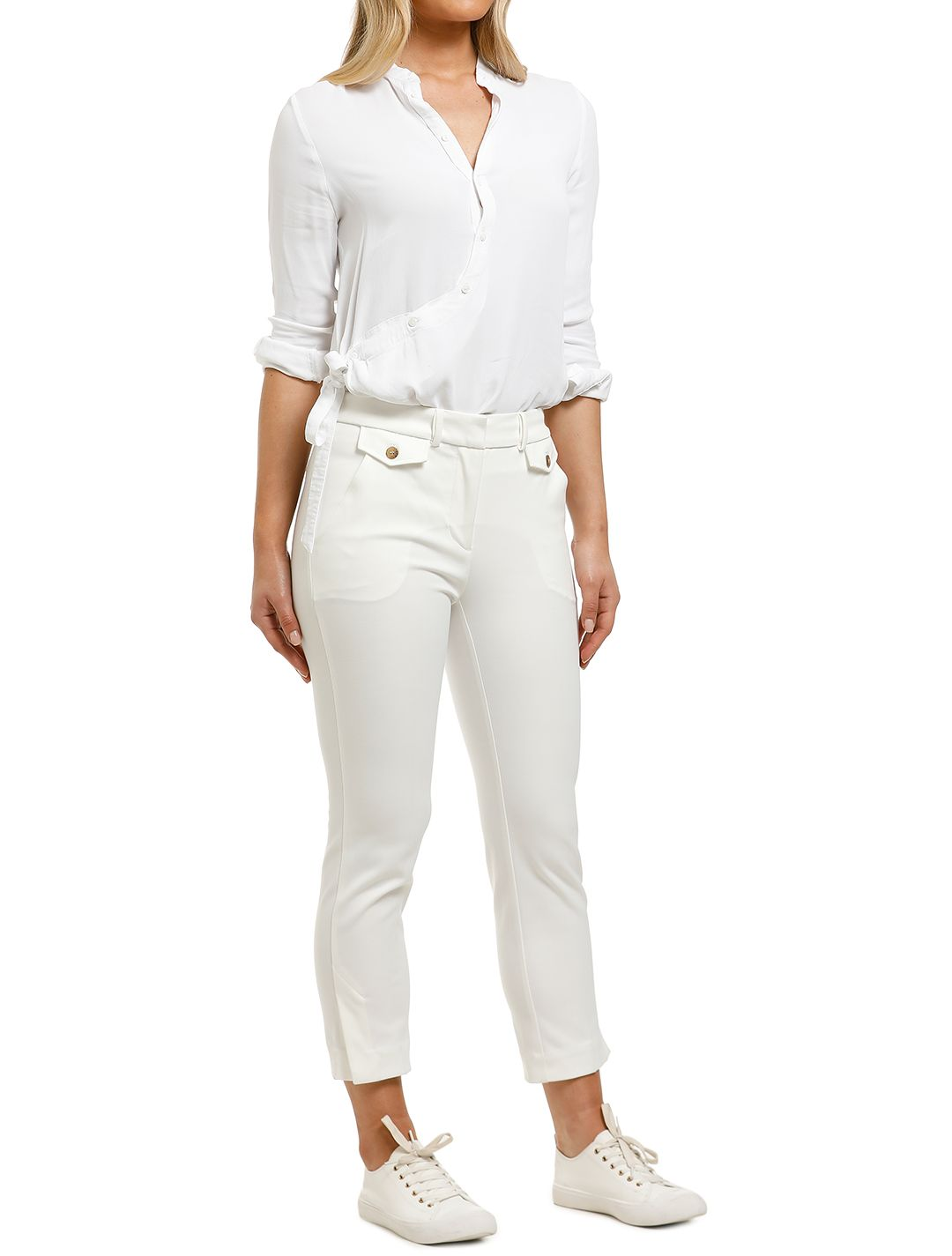 Country-Road-DBL-Cloth-Slim-Pant-Antique-White-Side