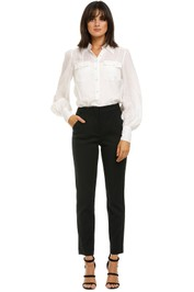 Country-Road-High-Waist-Pant-Black-Front
