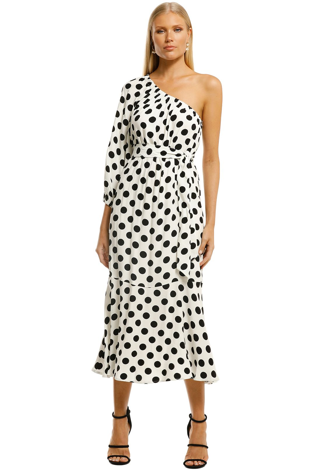 Country-Road-Print-One-Shoulder-Maxi-Antique-White-Front
