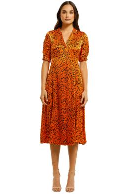Country-Road-Print-Shirt-Dress-Orange-Front