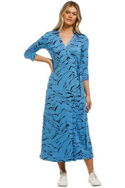 Country-Road-Print-Wrap-Jersey-Dress-Azure-Front