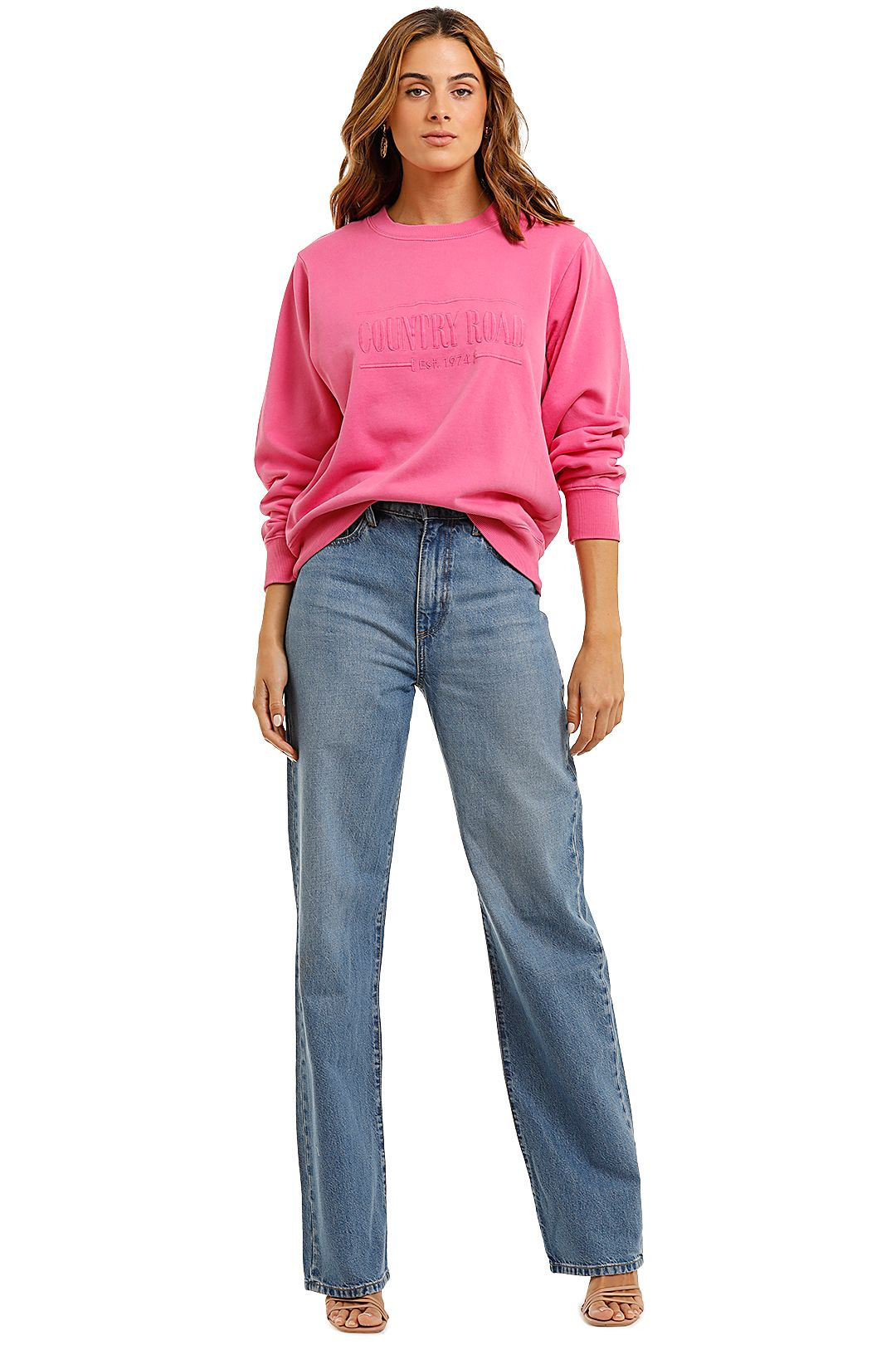 Country Road Heritage Sweat French Rose