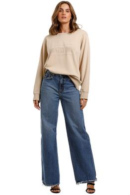 Country Road Heritage Sweat Macadamia