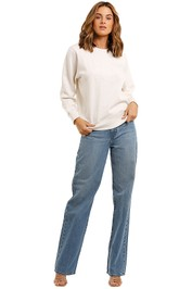 Country Road Heritage Sweat Natural Marle