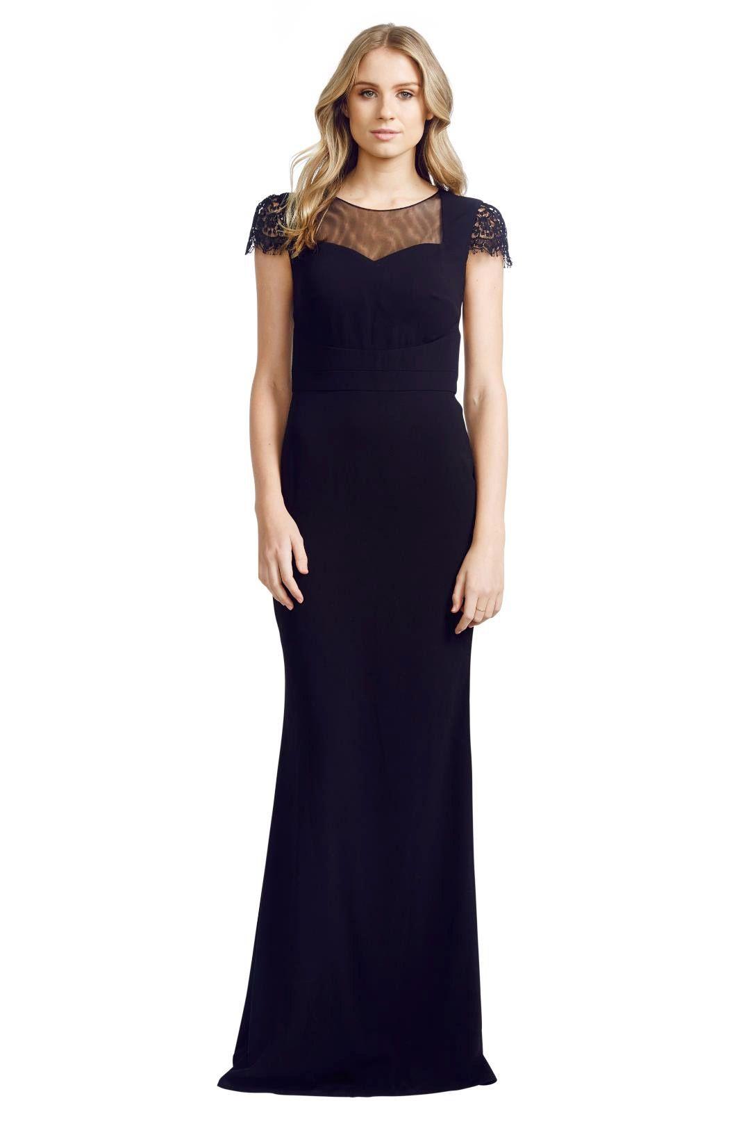 Cristallini - Adorn Gown - Black - Front