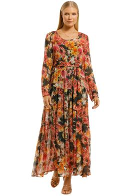 Curate-by-Trelise-Cooper-Dont-Get-Me-Long-Dress-Flower-Front