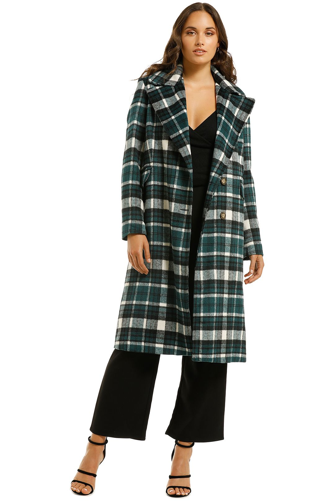 Curate-by-Trelise-Cooper-Little-Coaty-Midi-Coat-Green-Front