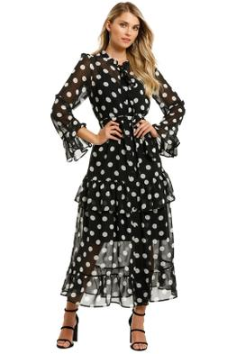 Curate-by-Trelise-Cooper-Long-With-The-Wind-Dress-Spot-Front