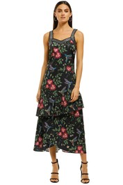 Curate-by-Trelise-Cooper-Ruffle-Feathers-Dress-Black-Floral-Front