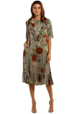 Curate by Trelise Cooper Sheer Love Dress scoop