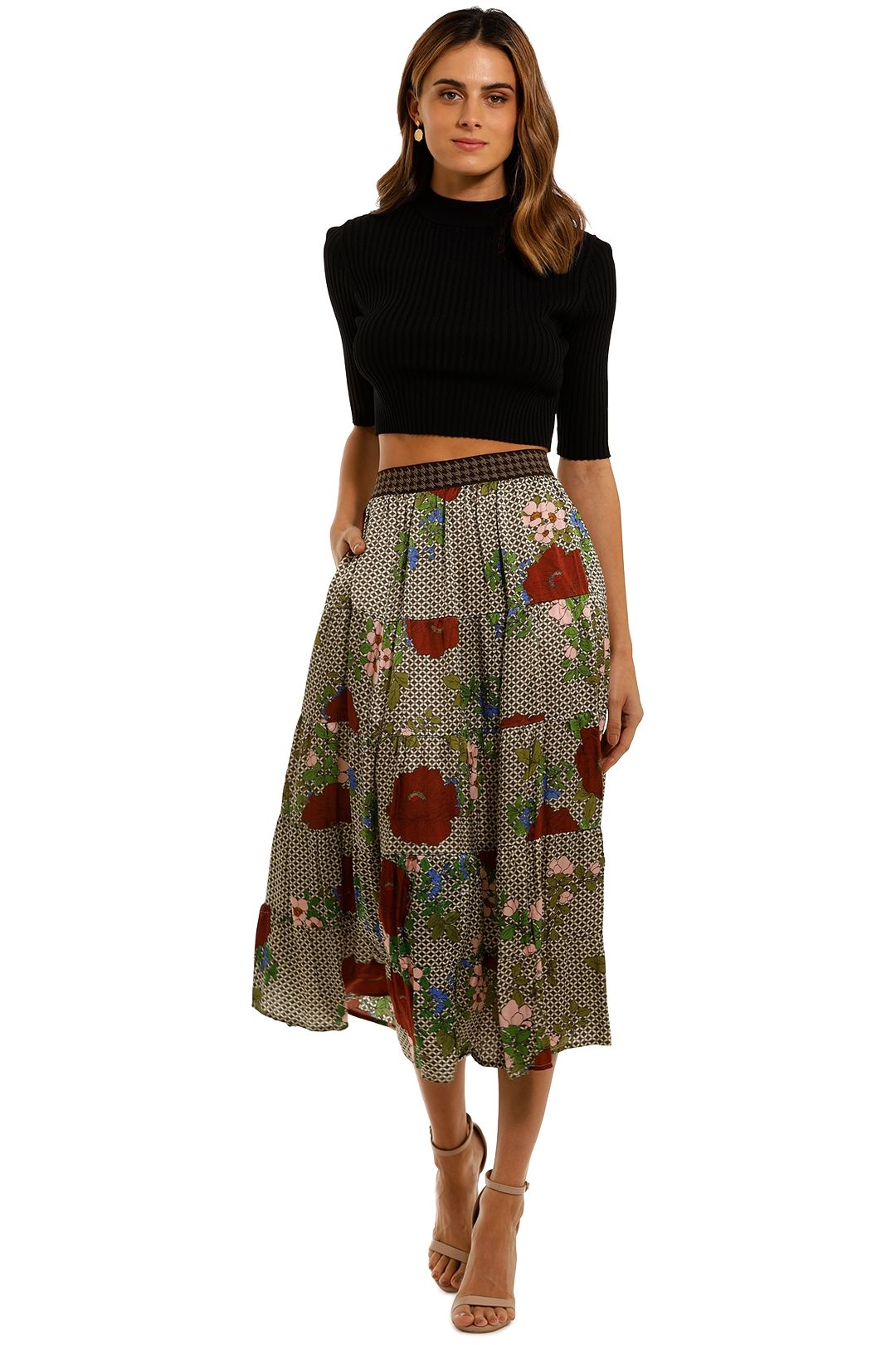 Curate by Trelise Cooper The Last Layer Skirt midi