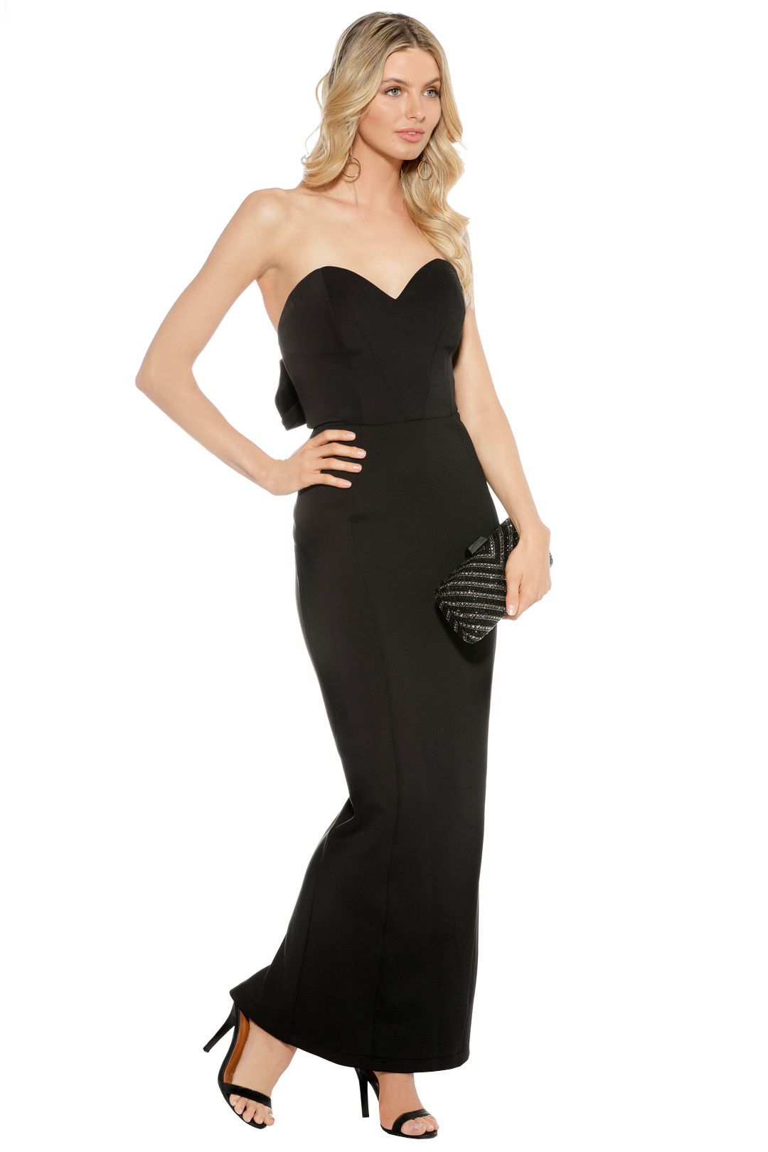 Eileen Kirby - Sweetheart Gown - Black - Side