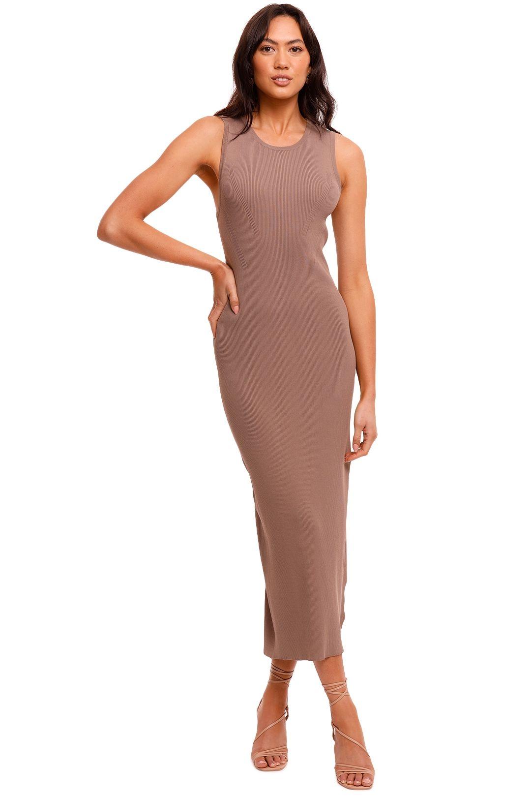 Elka Collective Tone Knit Dress bodycon